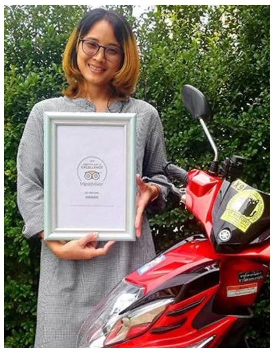 Motorbike Rental In Chiang Mai, Certificate Of Excellence