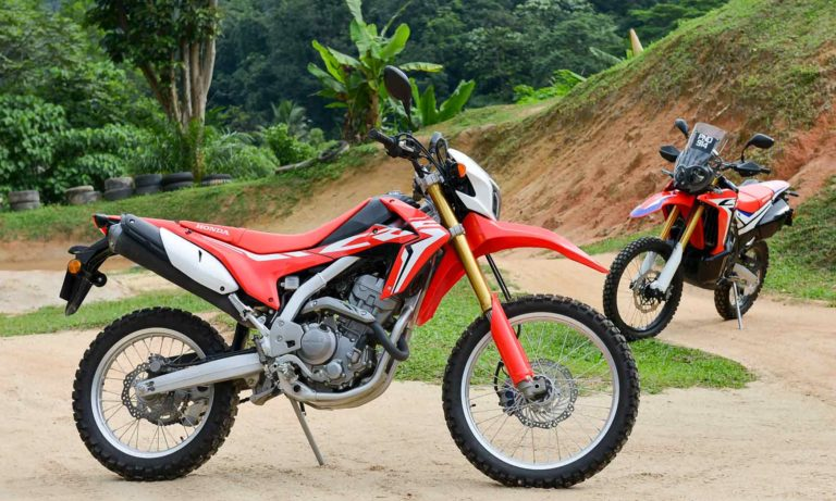 Crf250L For Rent In Chiamg Mai
