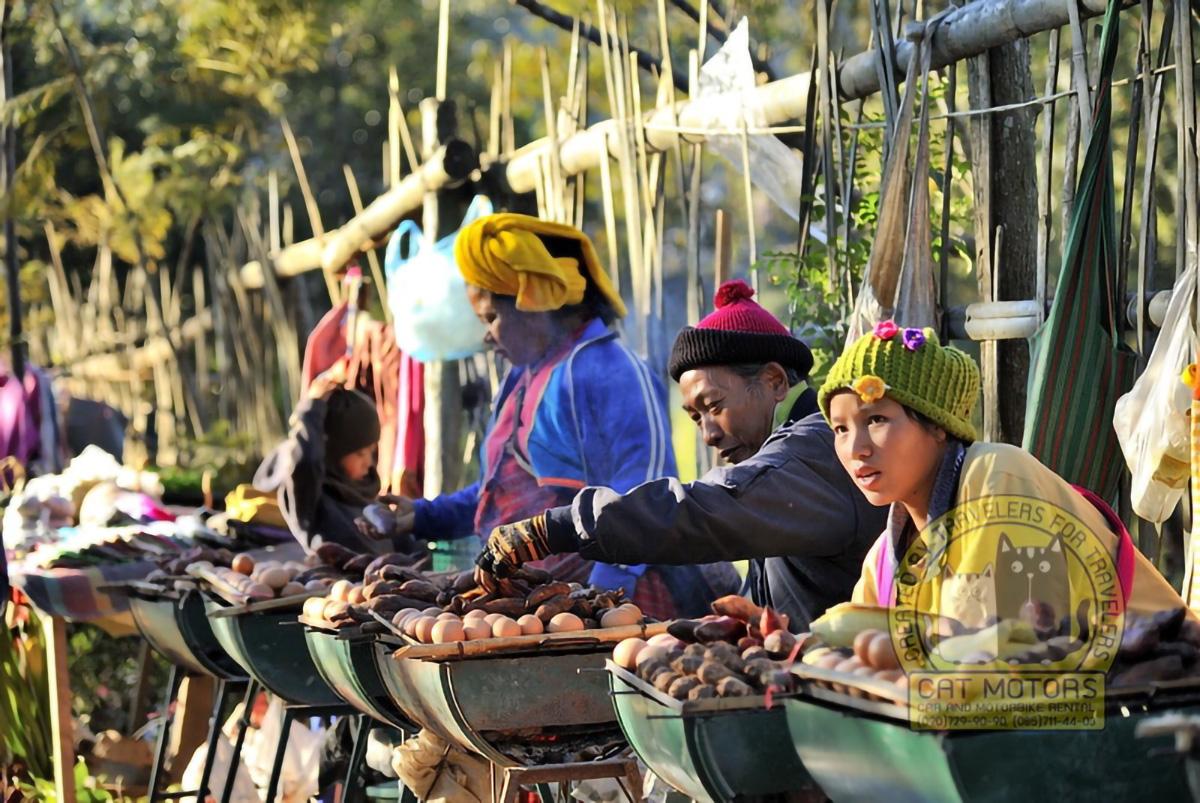 Doi Ang Khang Ethnic Market