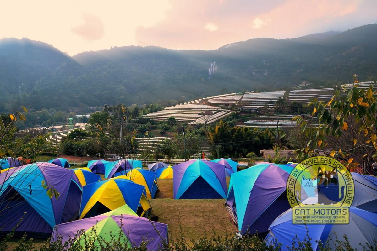Doi Inthanon Camping