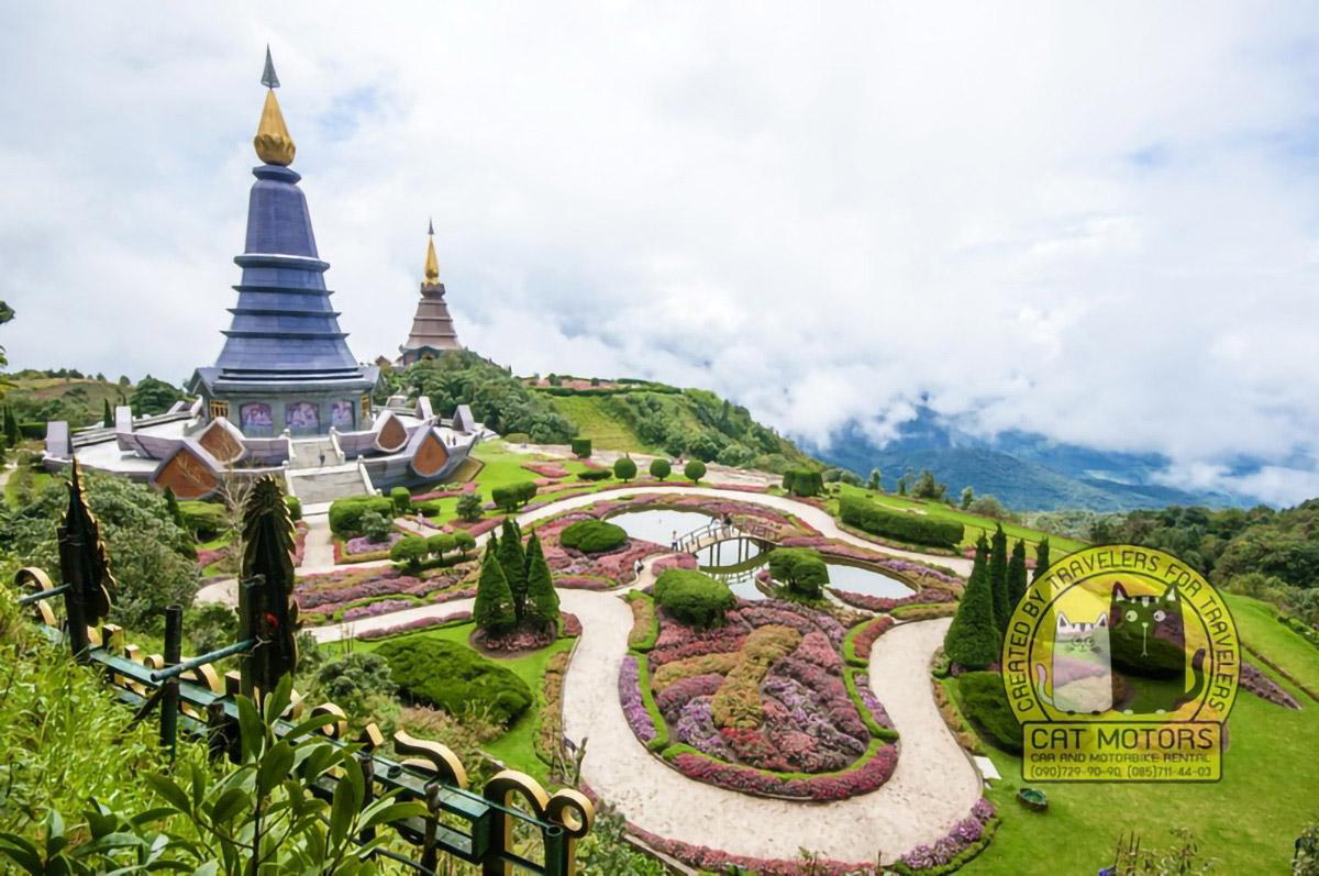 Doi Inthanon Pagodas