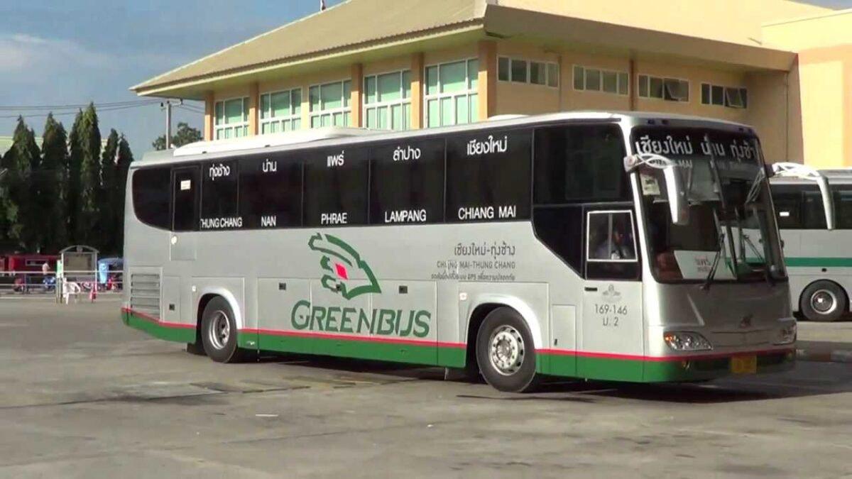 Phu Chi Fah bus from Chiang Mai