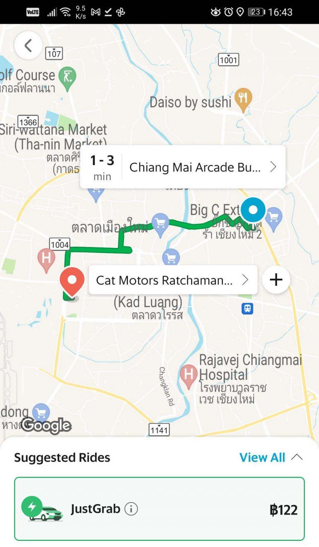 grab taxi bus
