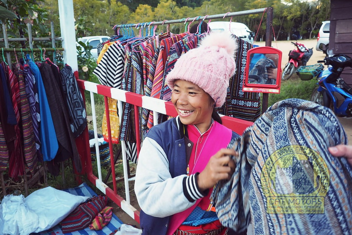 Local Hmong Woman Mountain Tribe