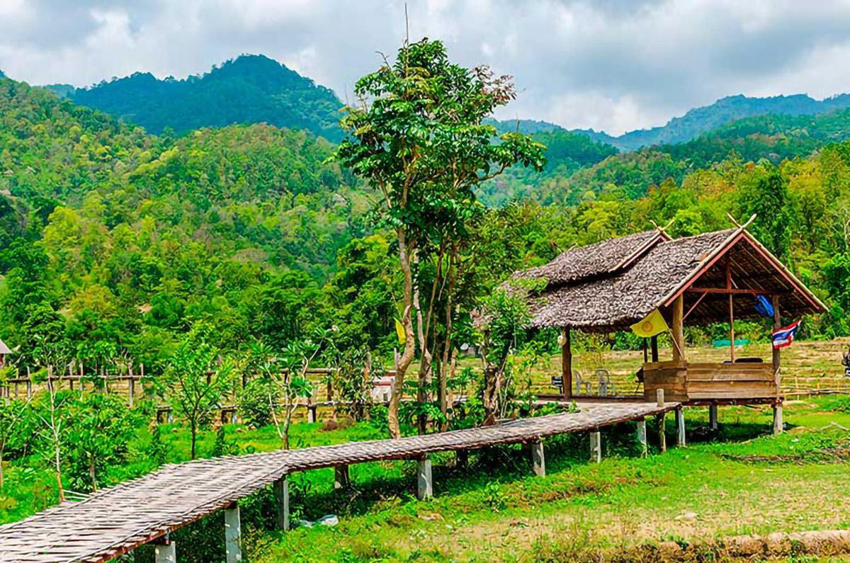 Pai Bamboo Bridge