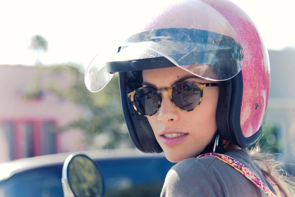 woman helmet